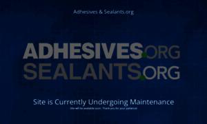 Adhesives.org thumbnail