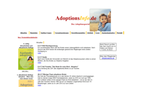 Adoptionsinfo.de thumbnail