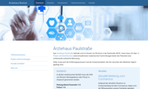 Aerztehaus-rostock.de thumbnail