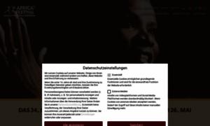 Africafestival.org thumbnail