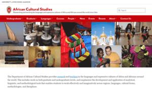 African.wisc.edu thumbnail
