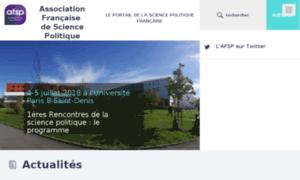Afsp.msh-paris.fr thumbnail