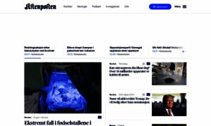 Aftenposten.no thumbnail