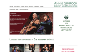 Ahnundsimrockverlag.de thumbnail