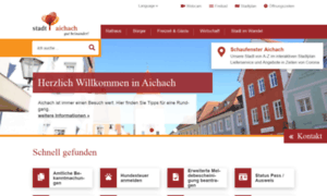 Aichach.de thumbnail