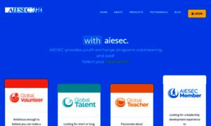 Aiesec.org.eg thumbnail