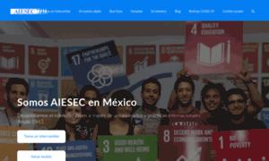 Aiesec.org.mx thumbnail