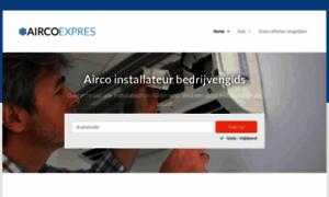 Airco-expres.nl thumbnail