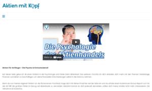 Aktienmitkopf.de thumbnail