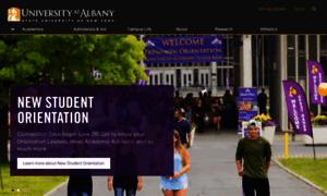 Albany.edu thumbnail
