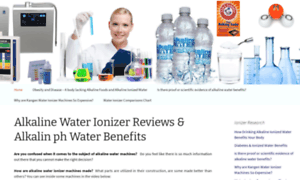 Alkalinewaterionizers.org thumbnail
