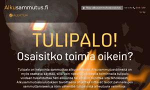 Alkusammutus.fi thumbnail