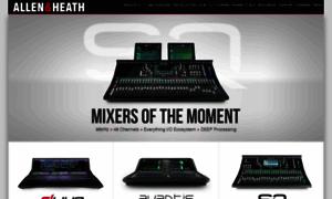 Allen-heath.com thumbnail