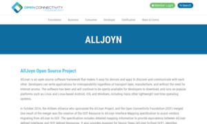 Alljoyn.org thumbnail
