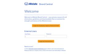 Allstatebrandcentral.com thumbnail