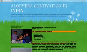 Aloeveracultivation.blogspot.in thumbnail