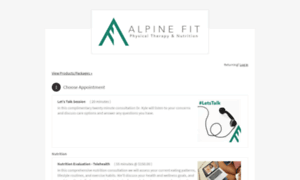 Alpinefitpt.as.me thumbnail