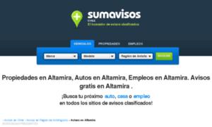 Altamira.sumavisos.cl thumbnail