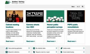 Ambervalley.gov.uk thumbnail