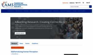 Ams.org thumbnail