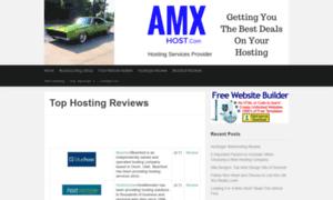 Amxhost.com thumbnail