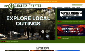Angeles.sierraclub.org thumbnail