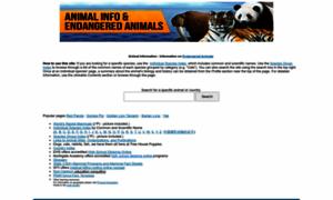 Animalinfo.org thumbnail