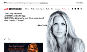 Anncoulter.com thumbnail