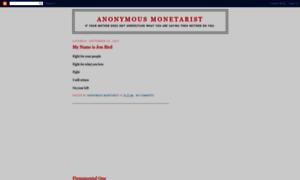 Anonymousmonetarist.blogspot.com thumbnail