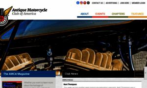 Antiquemotorcycle.org thumbnail