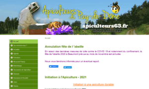 Apiculteurs63.fr thumbnail