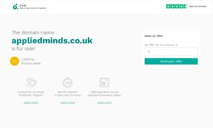 Appliedminds.co.uk thumbnail