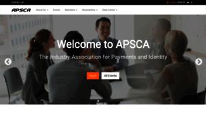 Apsca.org thumbnail