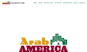 Arabamericafoundation.org thumbnail