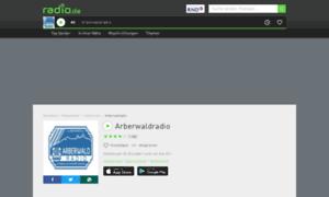 Arberwaldradio.radio.de thumbnail