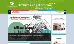 Archives.ille-et-vilaine.fr thumbnail