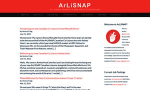 Arlisnap.arlisna.org thumbnail