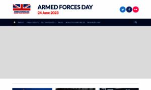 Armedforcesday.org.uk thumbnail
