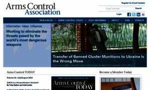 Armscontrol.org thumbnail