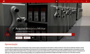 Arqhist.exercito.pt thumbnail