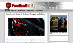 Arsenalfootball101.com thumbnail