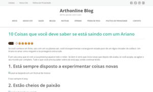 Arthonline.com.br thumbnail