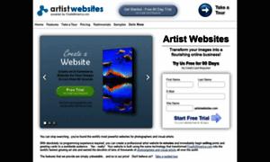 Artistwebsites.com thumbnail