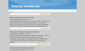 Artykuly-tematyczne.pl thumbnail