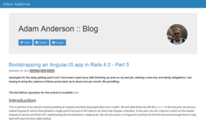 Asanderson.org thumbnail
