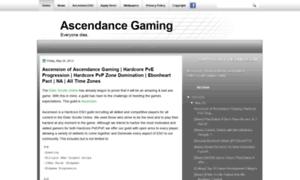 Ascendancegaming.blogspot.com.br thumbnail