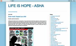 Ashalifeishope.blogspot.in thumbnail