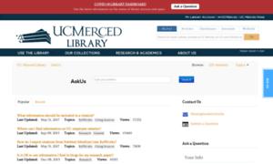 Askus.ucmercedlibrary.info thumbnail