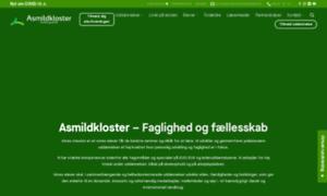 Asmildkloster.dk thumbnail