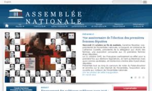 Assembleenationale.net thumbnail